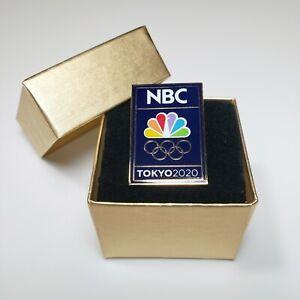 Tokyo 2020 Olympic Pin - NBC Logo Media Badge - Pinback Olympics 2021 - SOLD OUT
