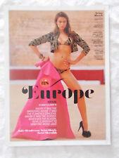 2013 Swimsuit Model Irina Shayk In A Bikini Magazine Page Photo Ad Sexy Nice