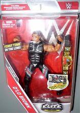 D'LO BROWN WWE Mattel Elite Collection Flashback Series 52 Figure w Belt DMG PKG