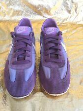 Nike Vintage Swoosh Purple Lavender 1970's Rare Running Sneakers Women Size 7.5