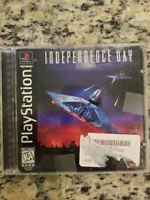 Independence Day Sony PlayStation 1 PS1 COMPLETE VIDEO GAME TESTED FREE S/H