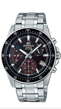 CASIO EDIFICE Watch EFV-540D-1A Stainless Steel 100m Men's  EFV540  With  Box