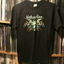 HIGH ON FIRE - Collage Head T-shirt - Size Small S - Stoner Doom Metal