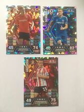 Match Attax 2013/14 Bellamy Chelsea Schurrle Giaccherini Shiny Trading Cards