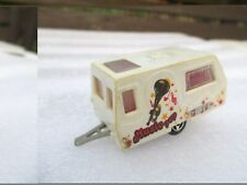 MAJORETTE 201 ST TROPEZ CARAVAN Broken Towbar  no packaging Music Pop version