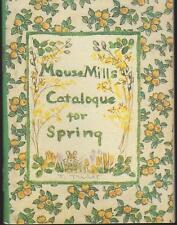 FINE First Edition Tasha Tudor Jenny Wren Press Mouse Mills Catalog for Spring