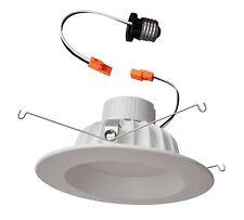 LED  Downlights, White-trim, Retrofit