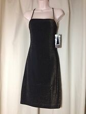 C.T. CITY TRIANGLES SOCIAL DRESSES BROWN METALIC SIZE S