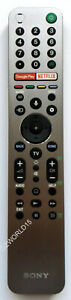 RMF-TX600P Sony remote A9G MASTER Series OLED 4K Ultra HD Android TV KD-77A9G