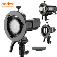 Godox Bowens Mount S2 Flash S-type Bracket for Godox V1 AD200 AD400PRO Flash
