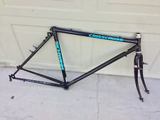 "Schwinn Crisscross Cyclocross Frame Fork Headset 19.5"" CroMo Steel"