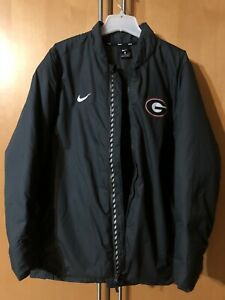 Nike Georgia Bulldogs Team Issued Baseball Dugout Jacket US 2XL (XXL) AO4511-060