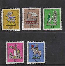 WEST GERMANY MNH STAMP DEUTSCHE BUNDESPOST 1969 HUMANITARIAN RELIEF SG 1506-1510