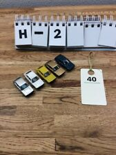 LOT OF 5 HERPA HO SCALE VOLKSWAGEN VW SCIROCCO GTI CARS EUC H-2 #40