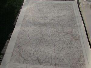 YORK PENNSYLVANIA - TOPOGRAPHIC MAP U.S. GEOLOGICAL SURVEY 1939