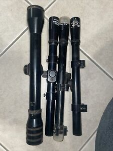 2-BUSHNELL SPORTVIEW  SCOPES Plus 2 Others See Pictures Used Needs Cleaning