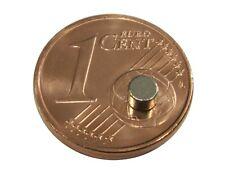 S539 Rundmagnete 20 Stück 3x2mm sehr starke Magnete Neodym N35 Powermagnete