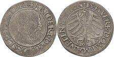 Schlesien Liegnitz Brieg Friedrich II., 1488-1547 Groschen 1543 Silber #AA79