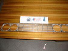 160110 GRIGLIA/MASCHERINA (FRONT GRILLE) FIAT 128 SPORT COUPE'  3P GRIGIA
