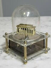 1960s San Francisco Dome Spinning Trolley Cable Car Music Box Powell & Mason