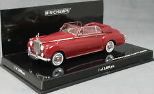Minichamps Rolls Royce Silver Cloud II Cabriolet in Dark Red Ltd Ed 3000 1/43NEW