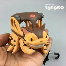 My Neighbor Totoro Put Chara Cat Bus Mini Figure Studio Ghibli Micro Landscape