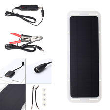 Portable 12V 5W Car Auto Boat Solar Panel Battery Charger Backup Power Supplier