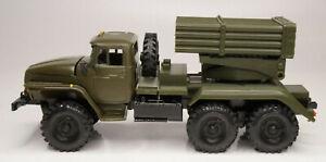 Ural 4320 BM-21 GRAD Rocket Lancher militar TRUCK 6X6 w/original box Elecon 2008