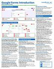 Google Forms Training Guide Quick Reference Card 2 Page Cheat Sheet Instructions