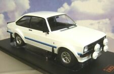 NICE IXO 1/18 DIECAST 1977 FORD ESCORT MKII MK2 RS1800 RS 1800 IN WHITE 18CMC029