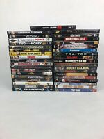 Assorted lot of 37 DVD's: Drama Action Crime Movies - All Discs Are Mint FSTSHP