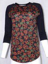 LuLaRoe Jersey Top Shirt XS to Small Pumpkin Print