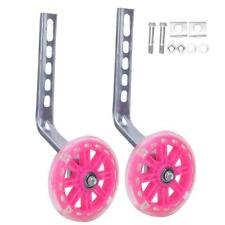 2X Kids Bicycle Training Wheels for 12-20inch Bikes with Support Bracket Part
