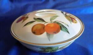Royal Worcester Evesham Gold  Casserole Dish  / Bowl - Medium
