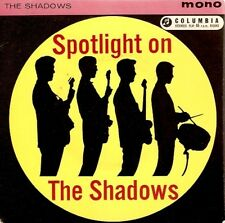 THE SHADOWS Spotlight On The Shadows EP Vinyl 7 Inch Columbia SEG 8135 1961 1st