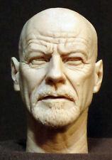 Walter White HEISENBERG Breaking Bad HEAD SCULPT. Action figures, 1/6 scale V-70
