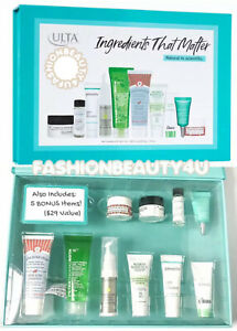 ULTA Prestige Skin Care Sampler Set ☆ Multibranded 10pc Kit + 5 GWP = 15!  $127