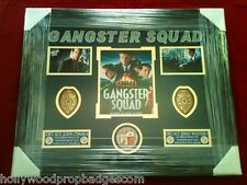 """""""Gangster Squad"""" ULTIMATE COLLECTOR BADGE SHADOW BOX DISPLAY PIECE!"""