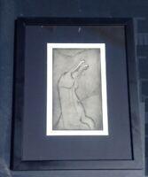 Anton PRINNER gravure signée n°1/25 tarot esotérisme papyrogravure Apocalypse