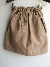 French Trotters Jupe Coton Skirt Beige NWT Bubble Limited Edition Limité Sz 1 SM