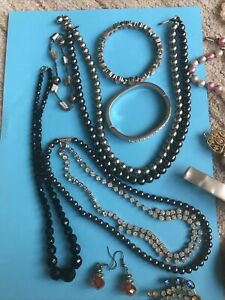 Selection Of Vintage Costume Jewellry