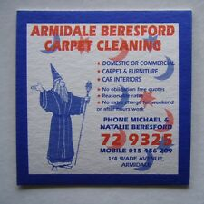 ARMIDALE BERESFORD CARPET CLEANING 1/4 WADE AVE 729325 COASTER