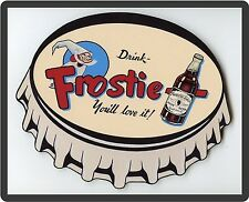 Huge Old Fashion Frosty Root Beer Soda Ad Refrigerator  Magnet
