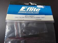 E-FLITE BLADE MSR in fibra di carbonio albero principale con colletto e hardware Bmsr