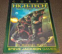 RPG GURPS Steve Jackson games Roleplaying High-Tech sourcebook