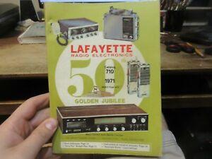 1970 Lafayette Radio Electronics Catalog Syosset New York CB Ham Speakers Tapes