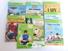 Lot of 7 Leap Frog Tag Reader Learning Children's Books with Tag Reader #30704
