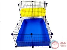 TWO TIER GUINEA PIG C&C CAGE 3x2 + LOFT + 2 CORREX TRAYS INCLUDED