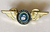 Alaska Airlines Employee Wings Flight Stewart Pin Badge Rare Vintage (G7)