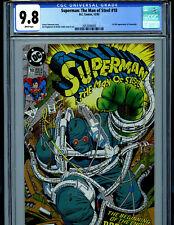 Superman Man of Steel # 18 CGC 9.8 NM/MT 1992 DC Comics 1st Doomsday B4